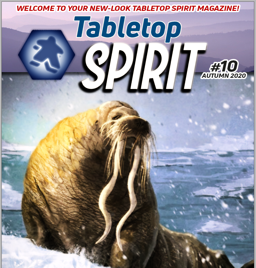 Tabletop SPIRIT Magazine Issue #10